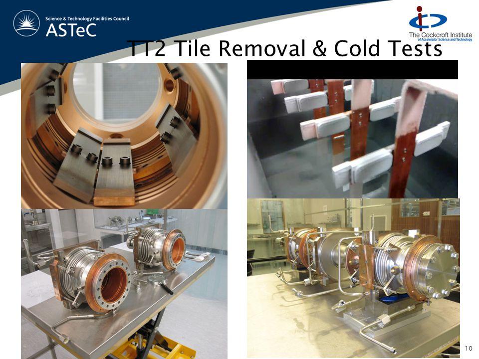 TT2 Tile Removal & Cold Tests 10