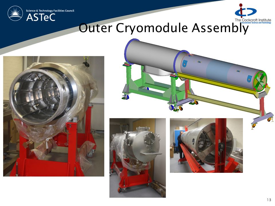 Outer Cryomodule Assembly 13