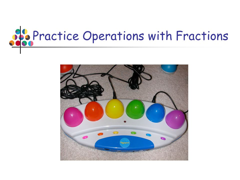 Practice Operations with Fractions