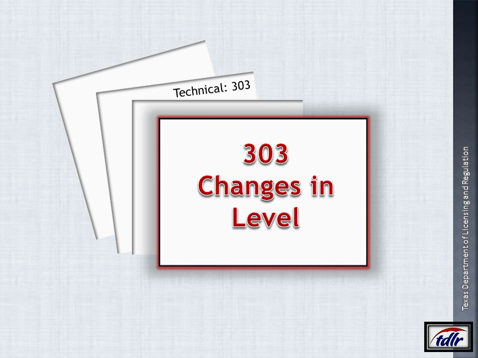 Technical: 303