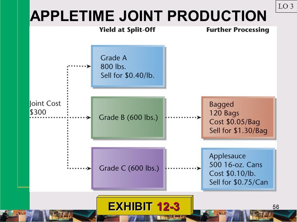 56 APPLETIME JOINT PRODUCTION LO 3 EXHIBIT 12-3