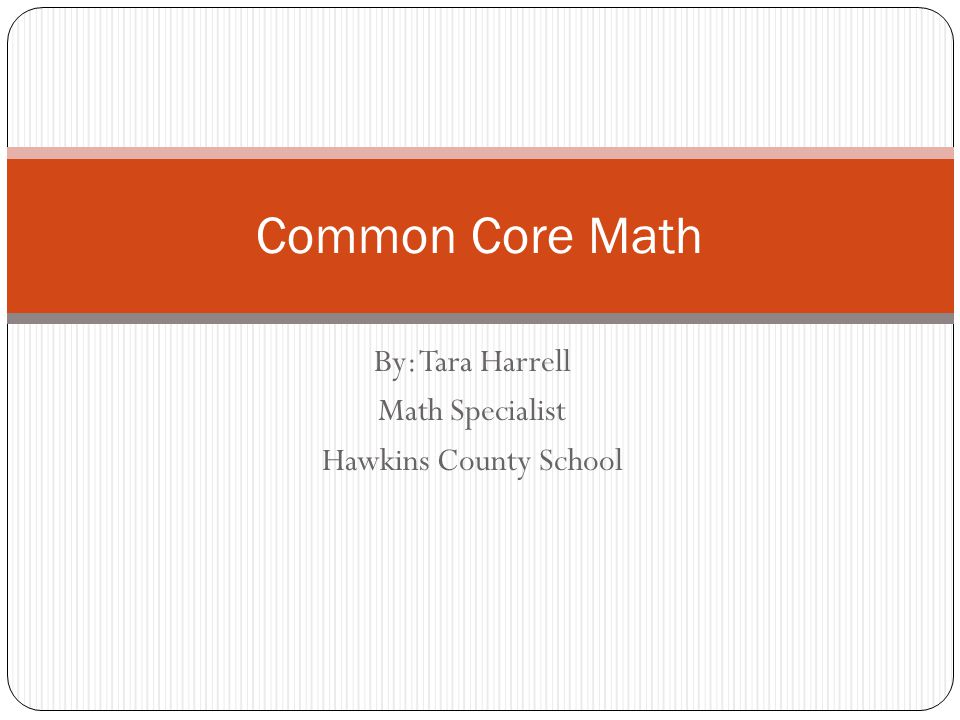 1.Write one thing you know about Common Core State Standards (CCSS).