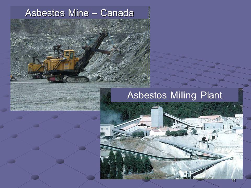 11 Asbestos Mine – Canada Asbestos Milling Plant