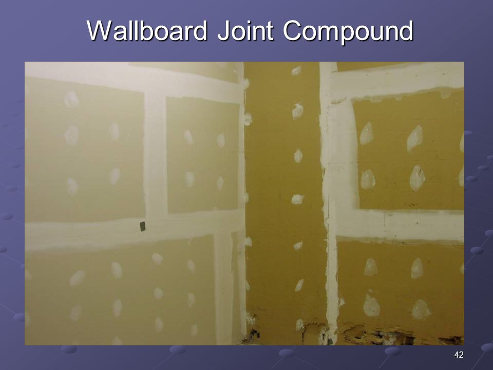 42 Wallboard Joint Compound