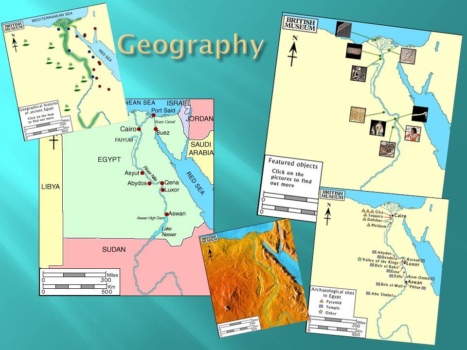 Mabee Gerre Museum of Art http://www.mgmoa.org/art- projects http://www.mgmoa.org/art- projects http://www.ancientegypt.co.uk/menu.html British Museum http://www.ancientegypt.co.uk/menu.html Egyptian Life, Geography, Gods/Goddesses, Mummification, Pharoahs, Pyramids, Temples, Time, Trades, Writing