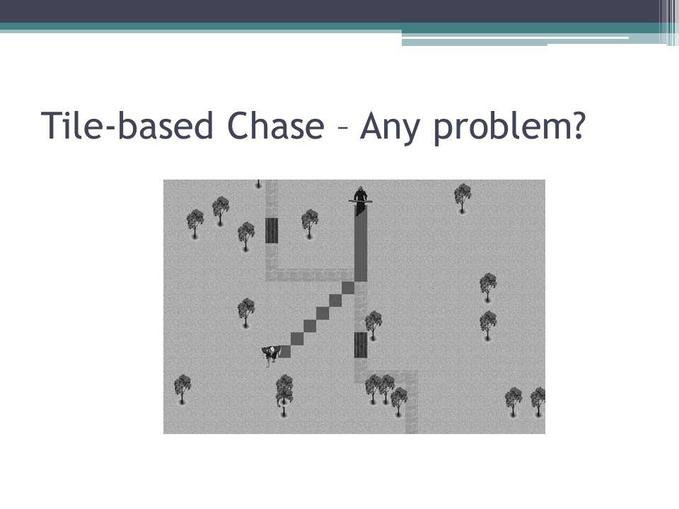 Tile-based Chase – Any problem?