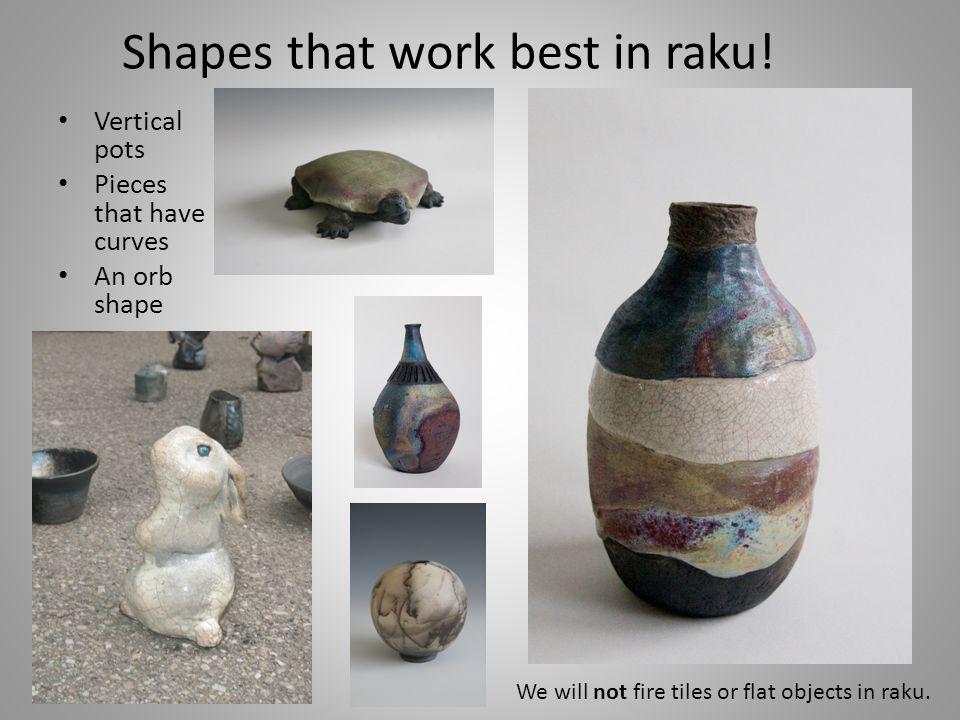 The raku process still amazes me.