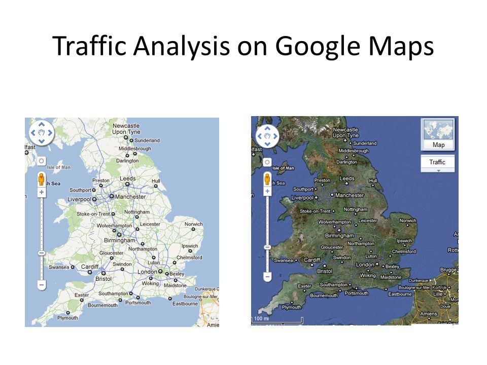 Traffic Analysis on Google Maps