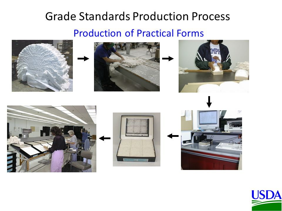 Production of Practical Forms Grade Standards Production Process