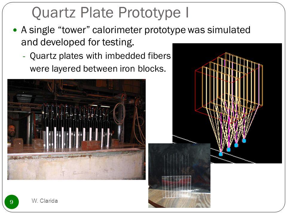 Quartz Plate Prototype I W.