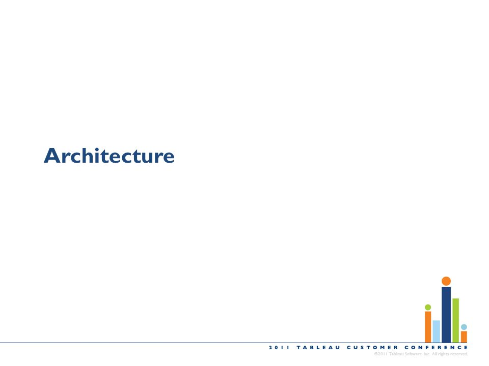 Architecture ©2011 Tableau Software Inc. All rights reserved.