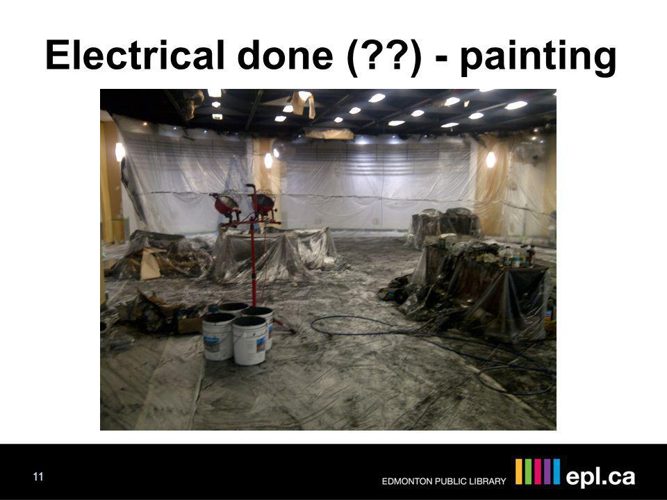 Electrical done ( ) - painting 11