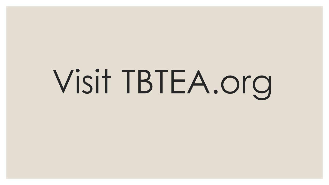 Visit TBTEA.org