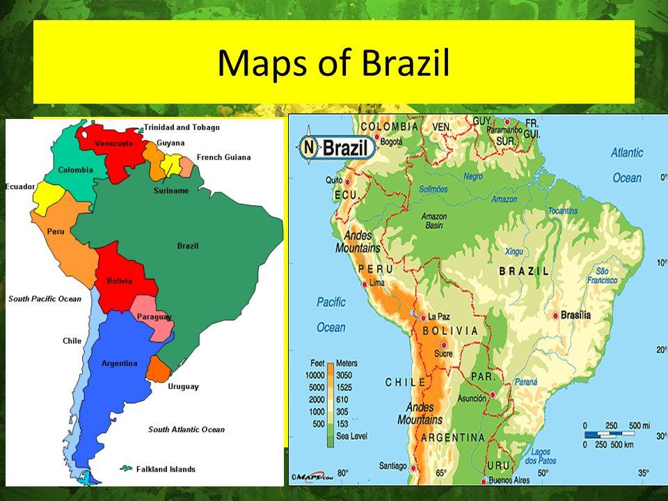 Maps of Brazil