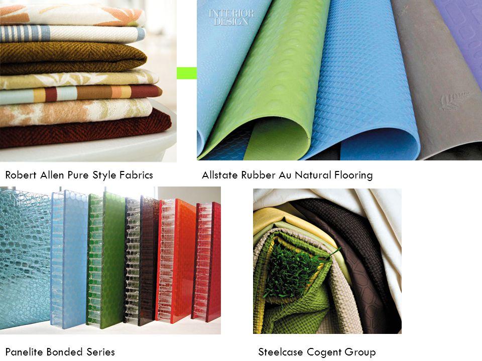 Robert Allen Pure Style FabricsAllstate Rubber Au Natural Flooring Panelite Bonded SeriesSteelcase Cogent Group