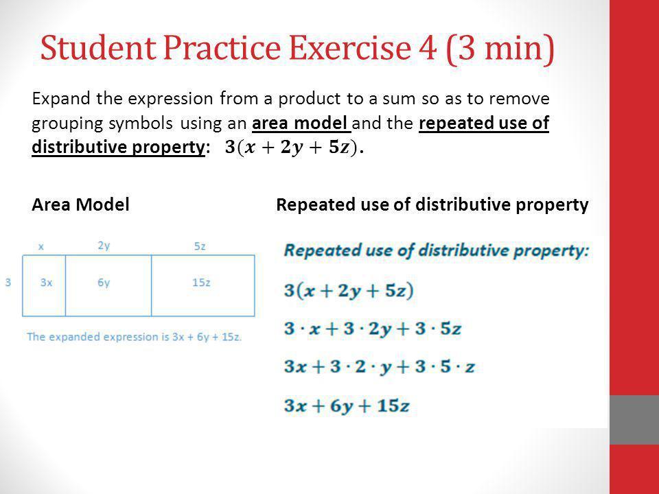 Student Practice Exercise 4 (3 min)