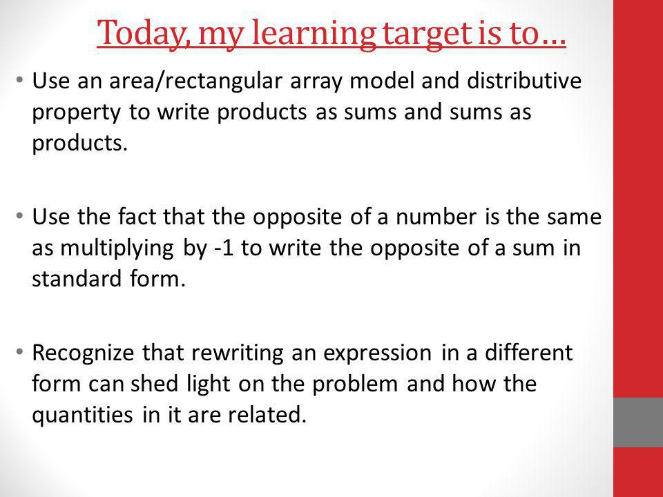Example 5 Discussion: Of the shared expressions, which one would you use and why.