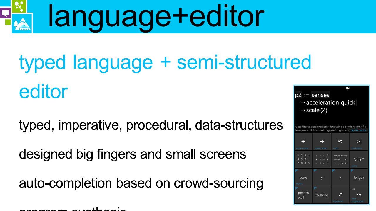 language+editor