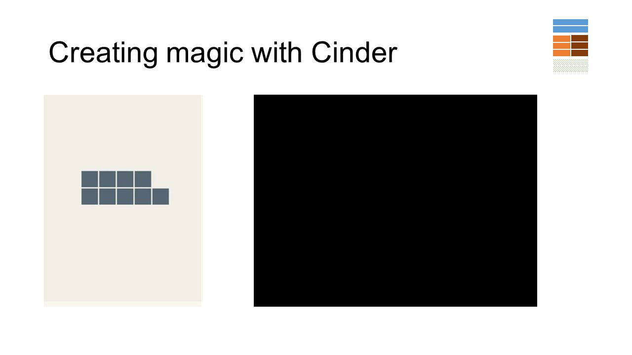 Creating magic with Cinder