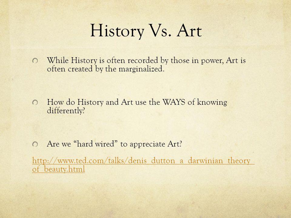 History Vs.