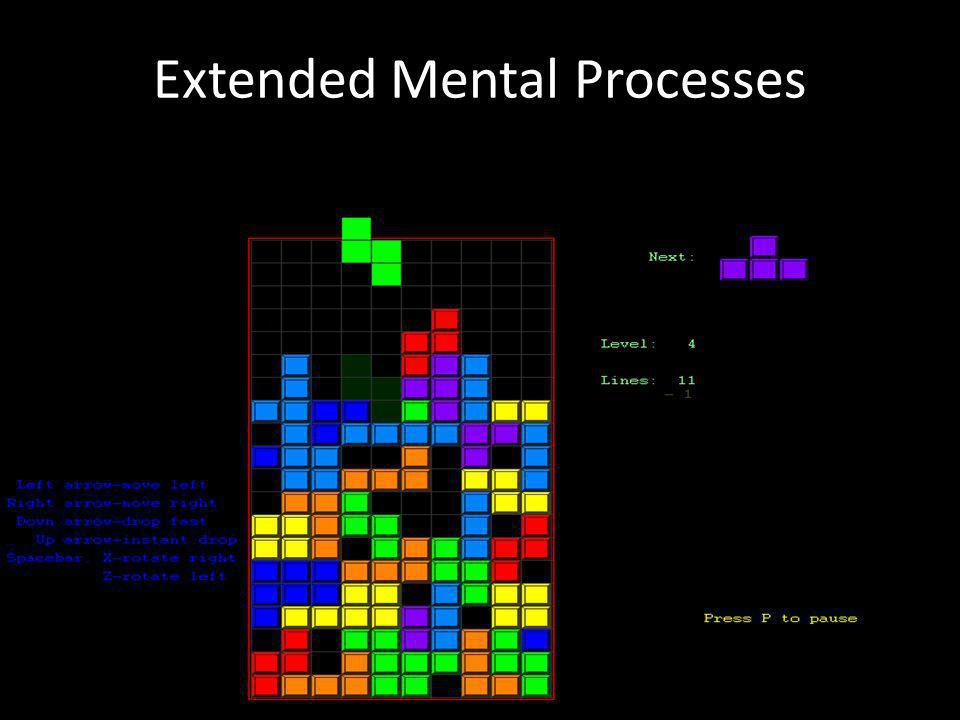 Extended Mental Processes