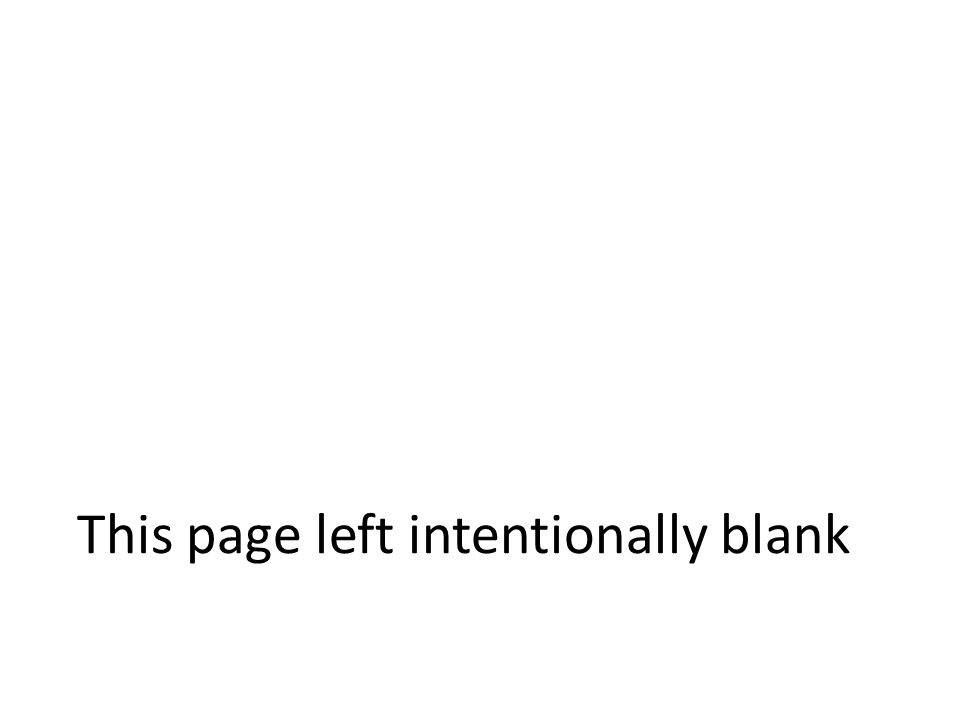 This page left intentionally blank