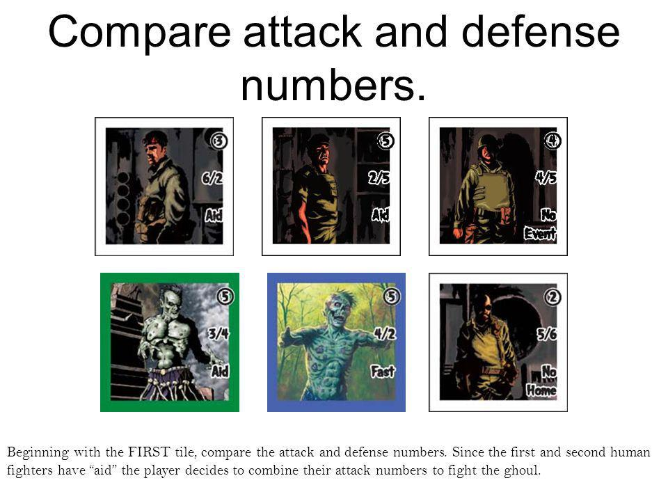 attack and defense numbers- part two.