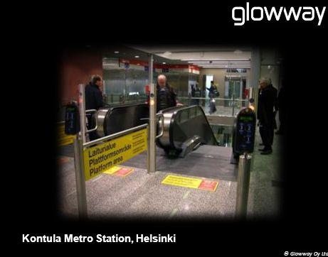 © Glowway Oy Ltd Kontula Metro Station, Helsinki