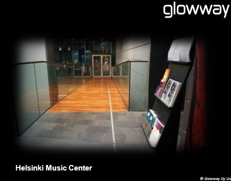 © Glowway Oy Ltd Helsinki Music Center