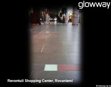 © Glowway Oy Ltd Revontuli Shopping Center, Rovaniemi