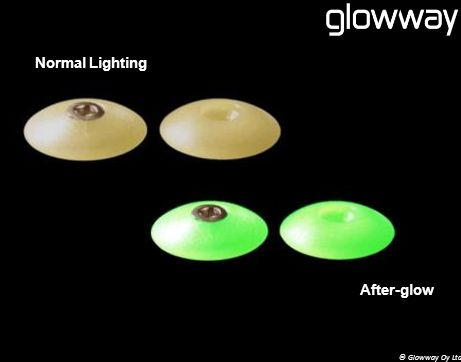 © Glowway Oy Ltd Normal Lighting After-glow