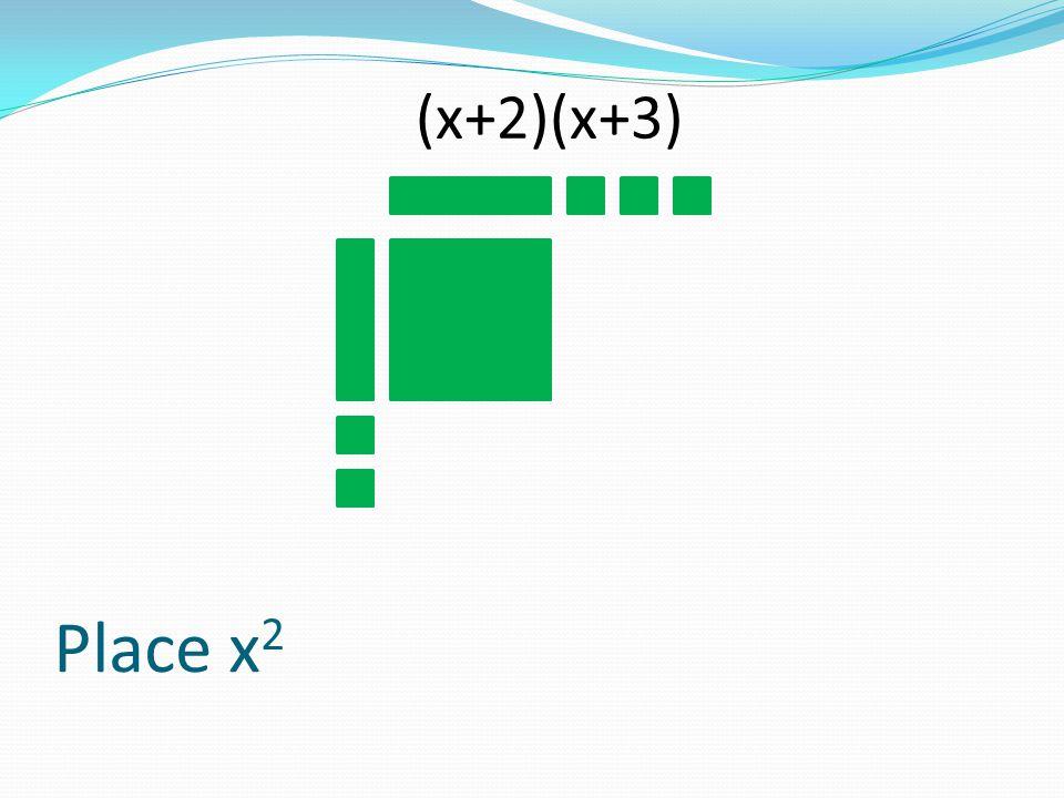 Place x 2 (x+2)(x+3)