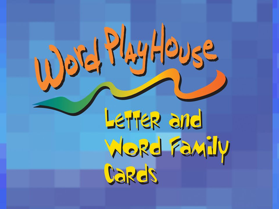Word PlayHouse is a program that provides students with visual impairments the opportunity to participate in classroom activities that focus on phonics, spelling, and phonemic awareness.