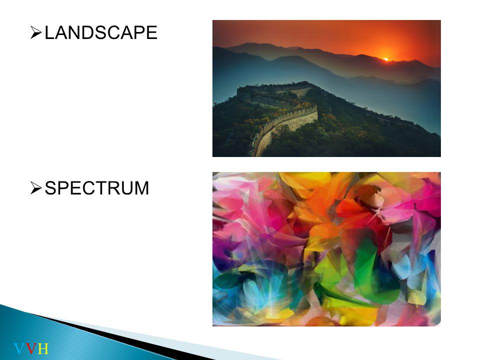 ART PATTERN LANDSCAPE SPECTRUM VVH