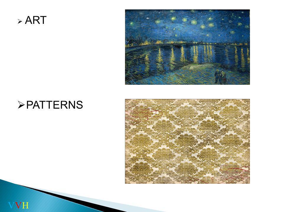 ART PATTERN ART PATTERNS VVH