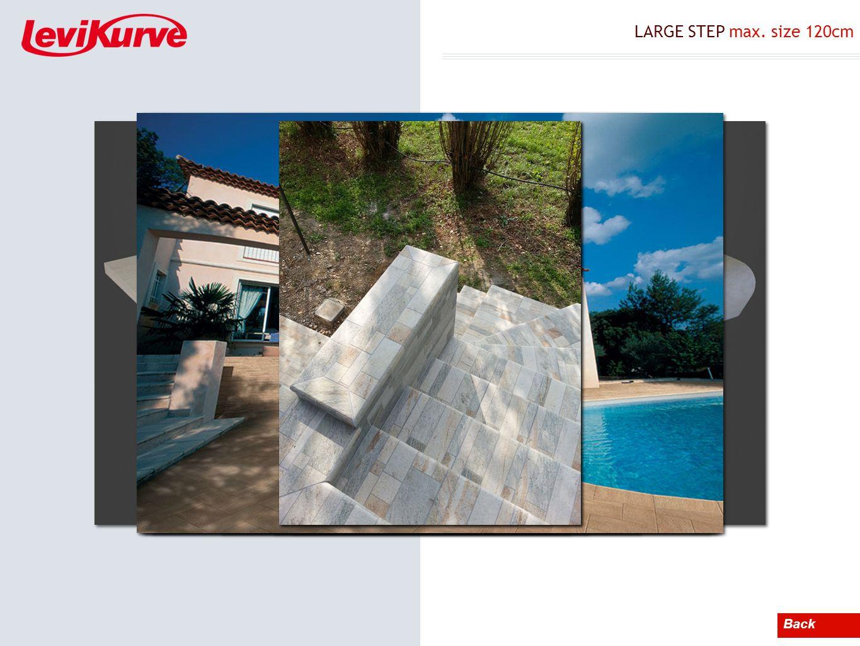 LARGE STEP max. size 120cm Back