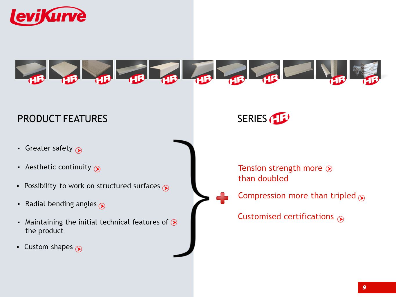 CUSTOMISED CERTIFICATIONS Back CUSTOMISED CERTIFICATIONS WITH TESTINGS PERFORMED ON THE CUSTOMERS PRODUCT SERIES