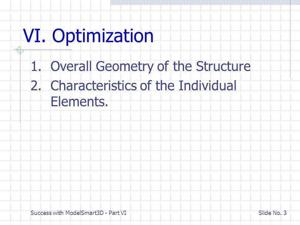 Success with ModelSmart3D - Part VI Slide No. 24 Material Grade