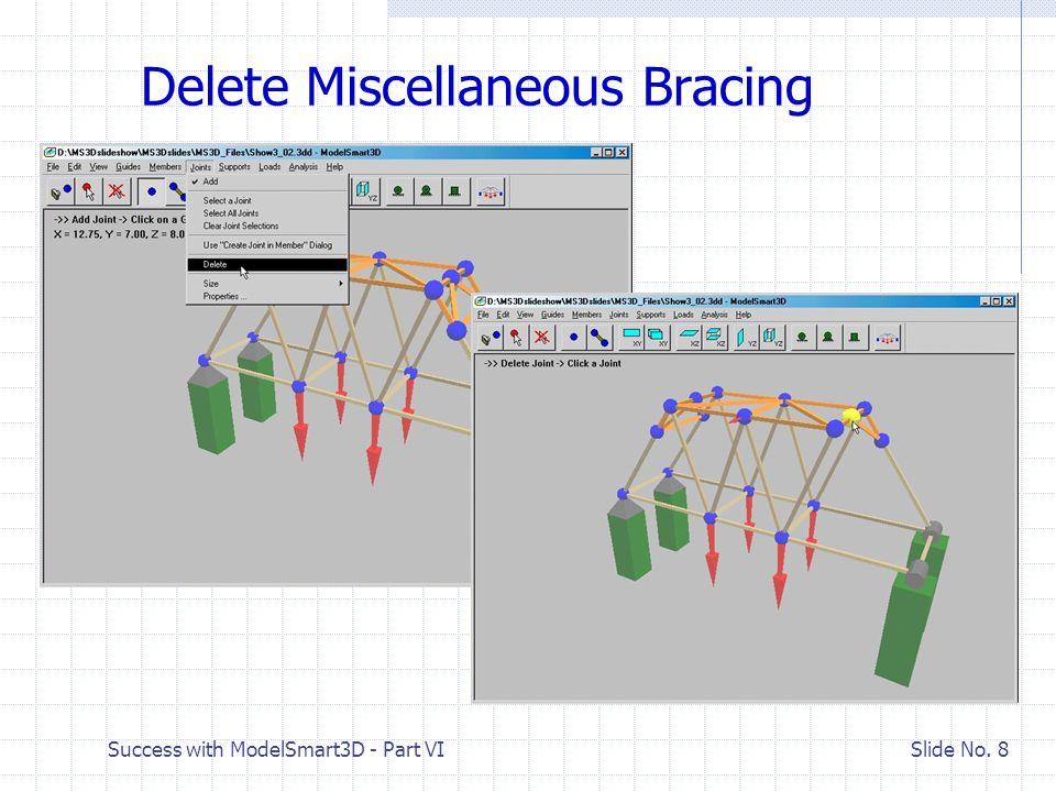 Success with ModelSmart3D - Part VI Slide No. 9 Move Origin to Left Front Joint