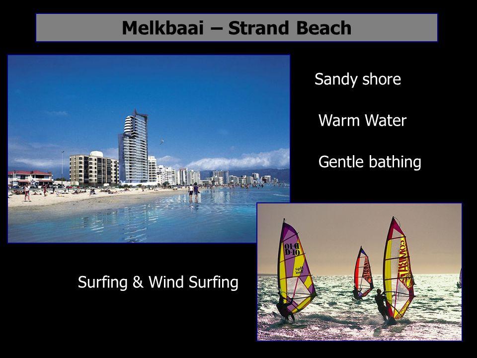 Melkbaai – Strand Beach Sandy shore Gentle bathing Warm Water Surfing & Wind Surfing