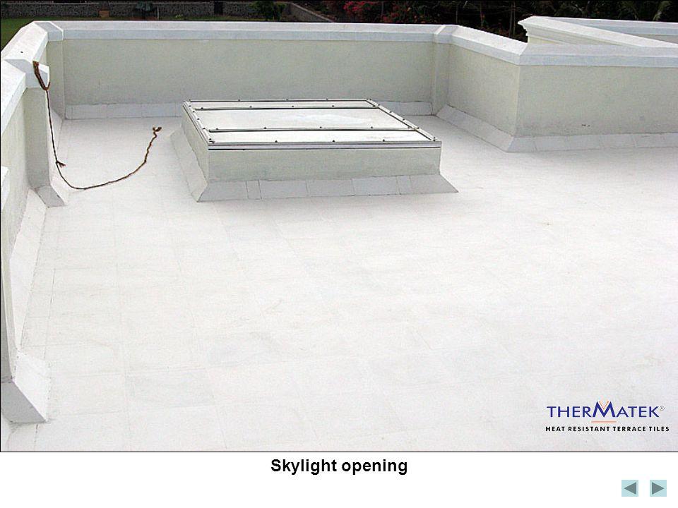 Skylight opening
