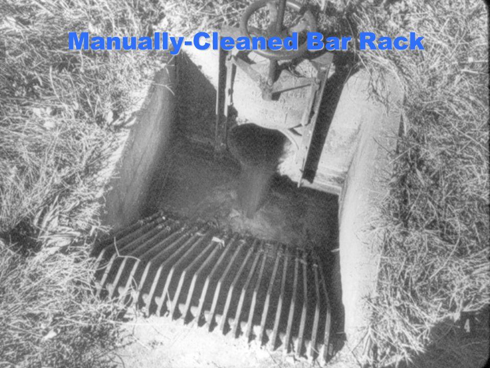 Manually-Cleaned Bar Rack