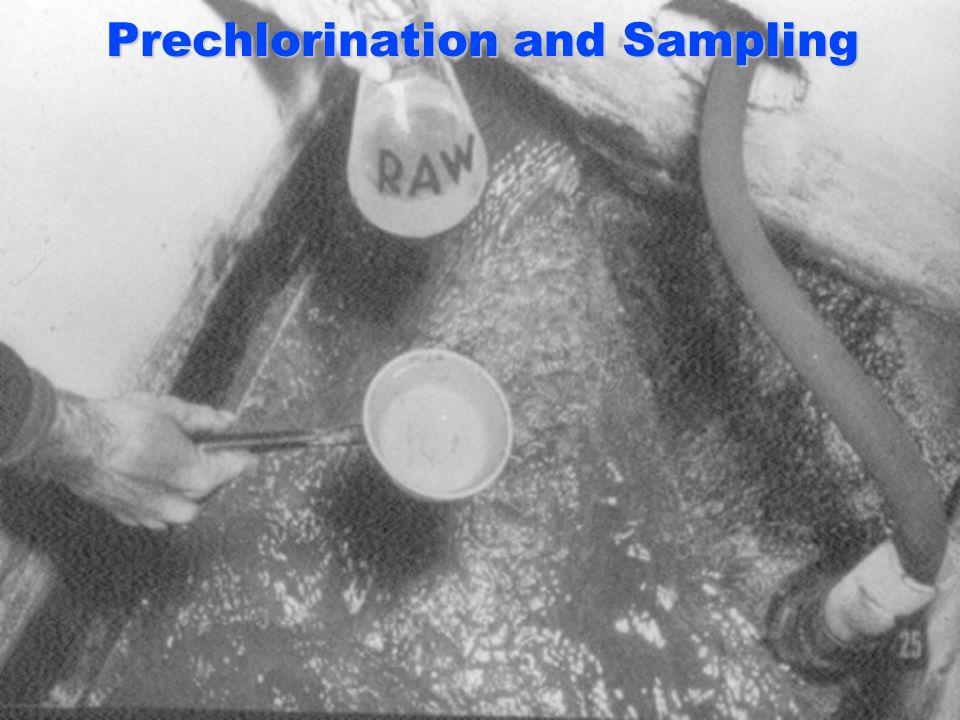 Prechlorination and Sampling