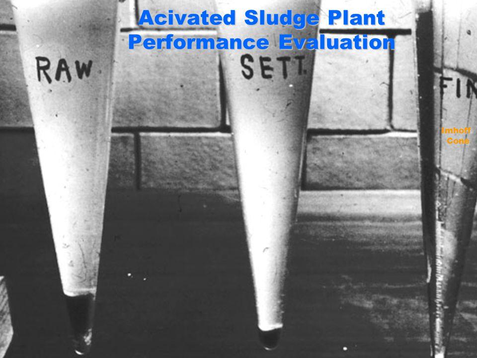Acivated Sludge Plant Performance Evaluation ImhoffCone