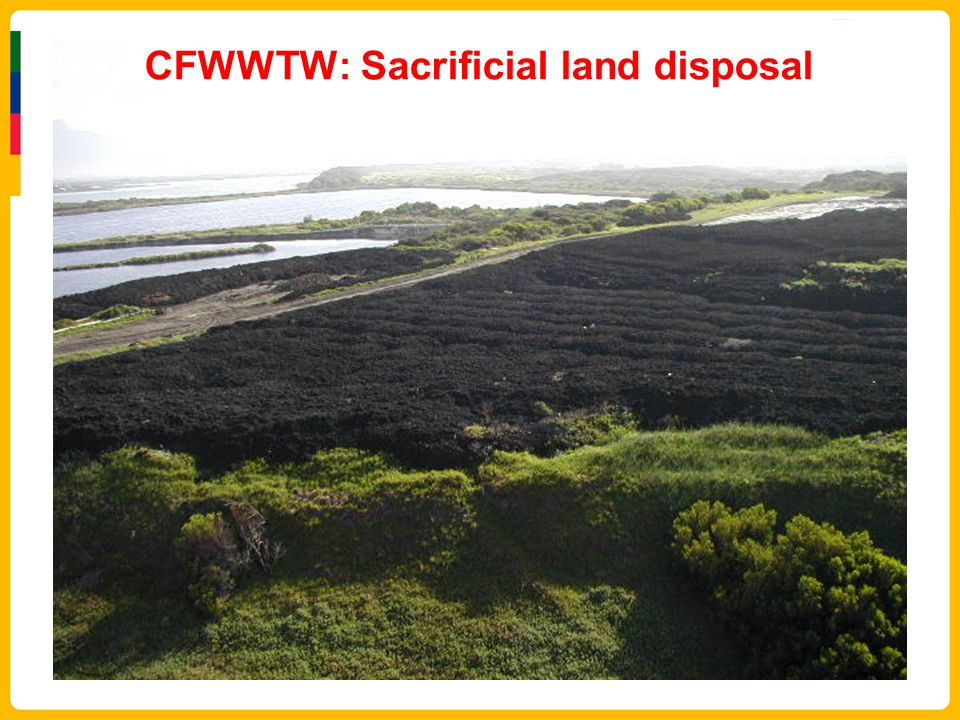 CFWWTW: Sacrificial land disposal