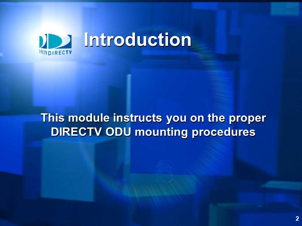 1 ODU Mounting