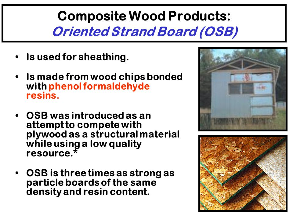 Composite Wood Products: Medium Density Fiberboard (MDF) Is used indoors for underlayment of countertops, cabinet walls and shelves, millwork, molding
