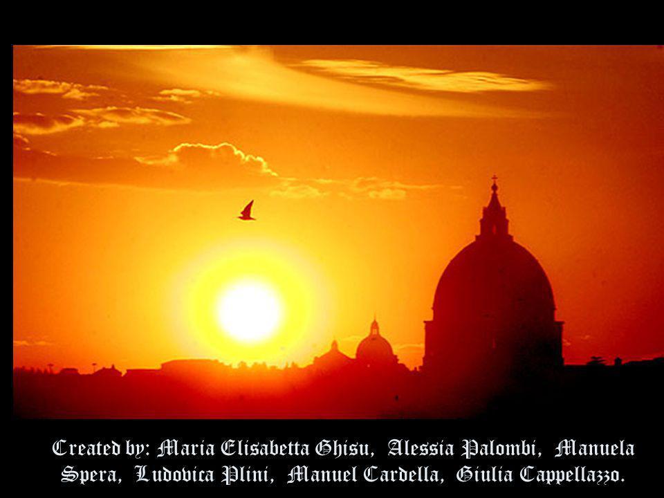 Created by: Maria Elisabetta Ghisu, Alessia Palombi, Manuela Spera, Ludovica Plini, Manuel Cardella, Giulia Cappellazzo.