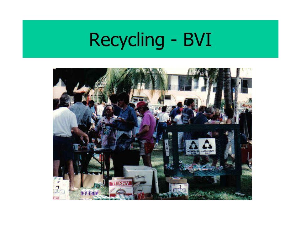 Recycling - BVI