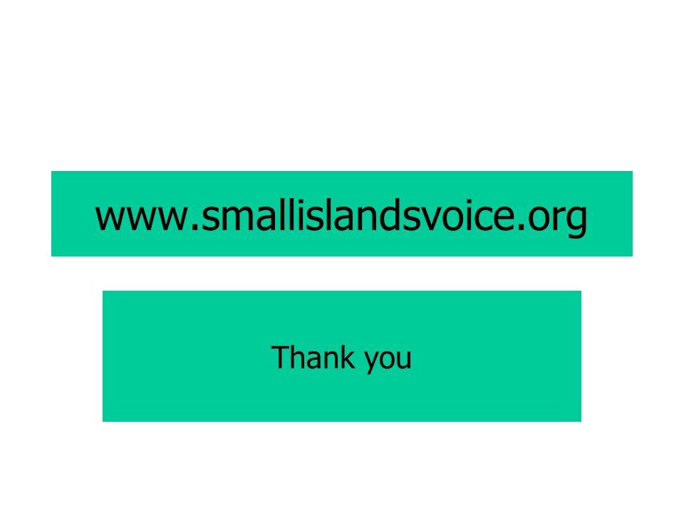 www.smallislandsvoice.org Thank you